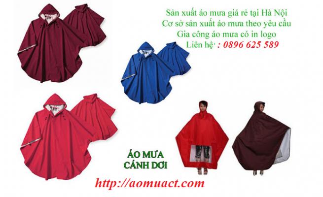 Sản xuất áo mưa theo yêu cầu