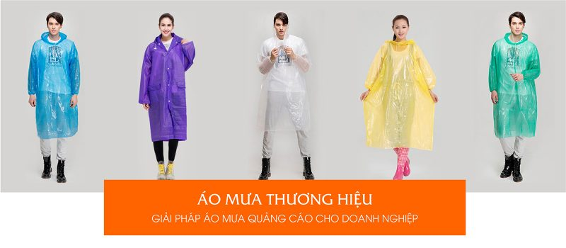 Áo mưa quảng cáo áo mưa thương hiệu