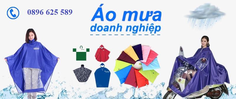 Đặt áo mưa quảng cáo giá tốt
