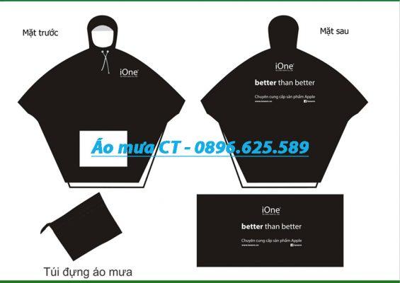 Đặt in áo mưa làm quảng cáo giá rẻ chất lượng hàng đầu