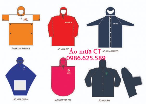 Danh sách các thương hiệu áo mưa tốt nhất hiện nay trên thị trường