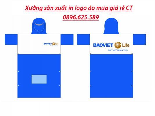 Xưởng sản xuất in logo áo mưa uy tín chất lượng tại Hà Nội
