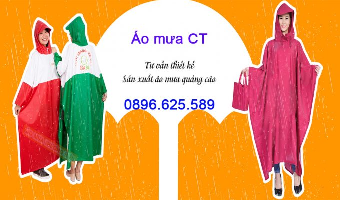 Giá sản xuất áo mưa quảng cáo phụ thuộc vào những yếu tố nào?