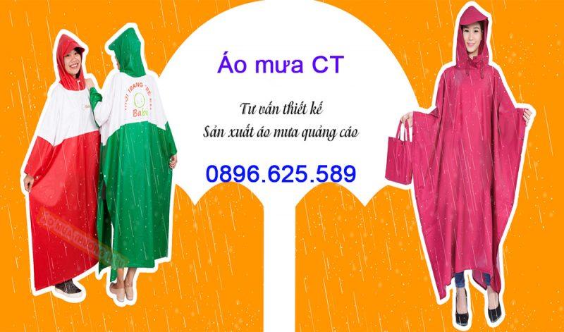 Cơ sở chuyên sản xuất áo mưa quảng cáo chất lượng cao