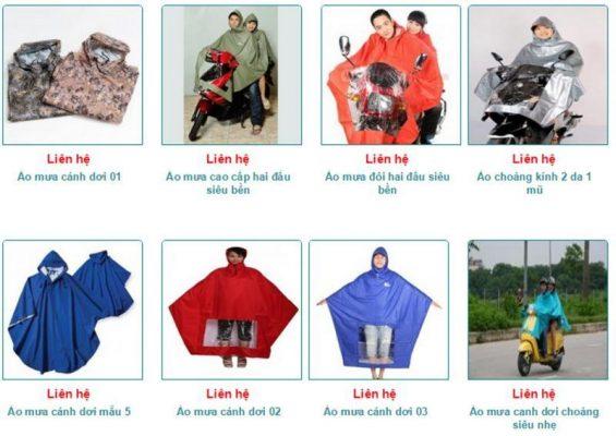 Báo giá áo mưa theo yêu cầu mới nhất 2020