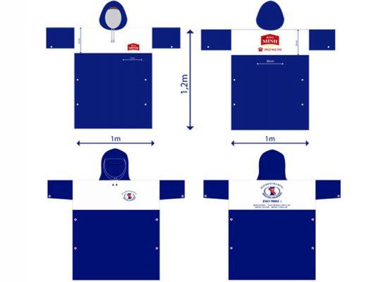 Báo giá sản xuất áo mưa theo yêu cầu nhanh chuẩn nhất