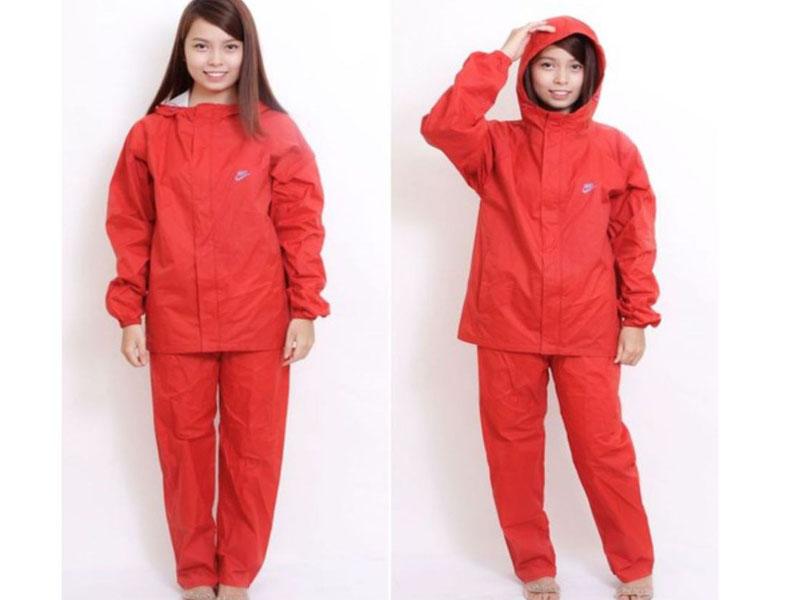 Một số loại áo mưa được sử dụng nhiều hiện nay