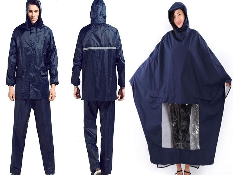 Nên lựa chọn áo mưa bộ hay áo mưa cánh dơi?