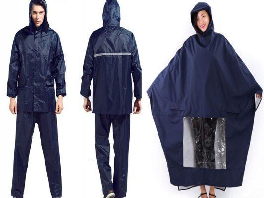 [Tư vấn] Nên lựa chọn áo mưa bộ hay áo mưa cánh dơi?